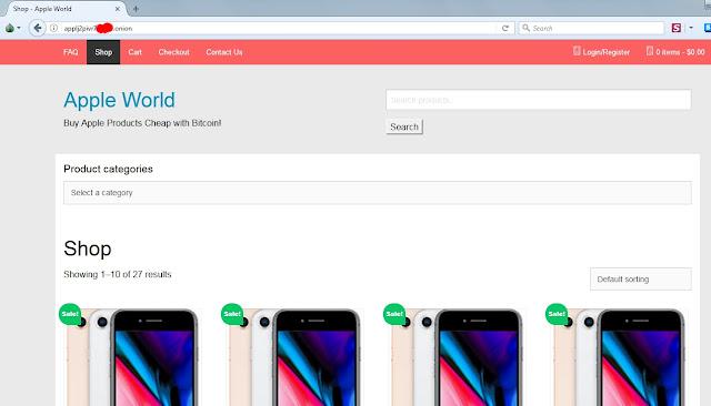 halaman shop apple world