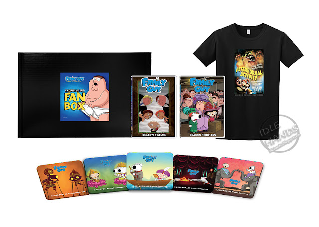 SDCC 2016 FOX Family Guy Fan Box