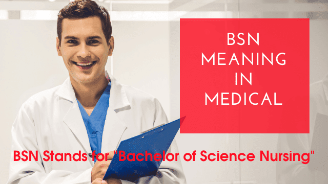 BSN Meaning