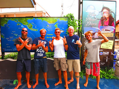 PADI IDC on Koh Lanta for March - April has reached the half way mark
