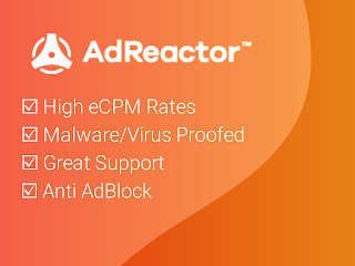 AdReactor 2020 Ad Network High CPM