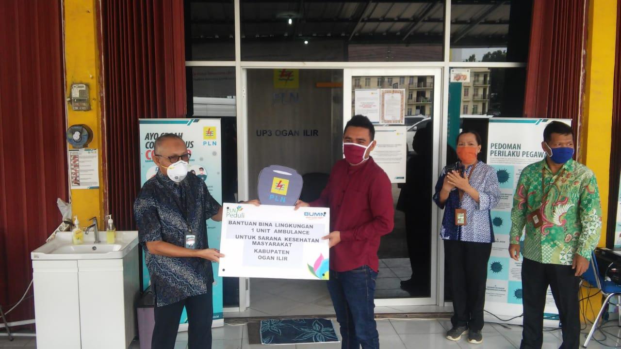 Yayasan RANBA Terima Satu Unit Ambulance Dari PLN UIWS2JB