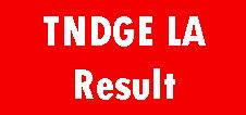 TNDGE Lab Assistant Result