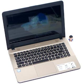 Laptop ASUS X441U Core i3 SkyLake Bekas