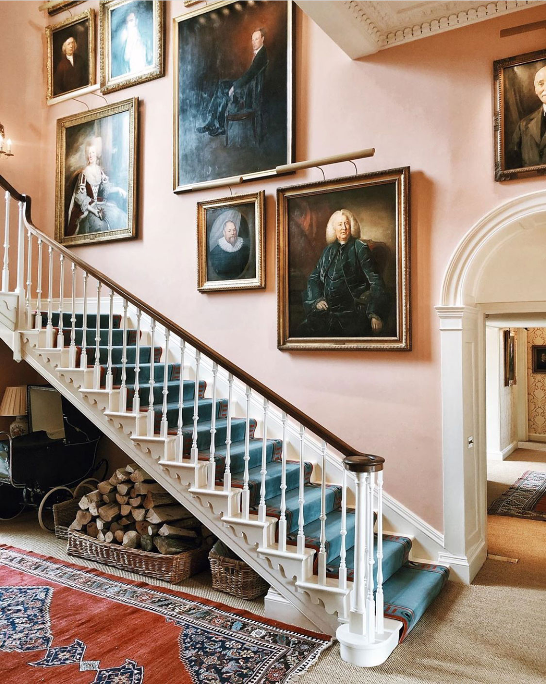 Weekday Wanderlust | Places: Farleigh Wallop & Brocket Hall with The Rollinson London