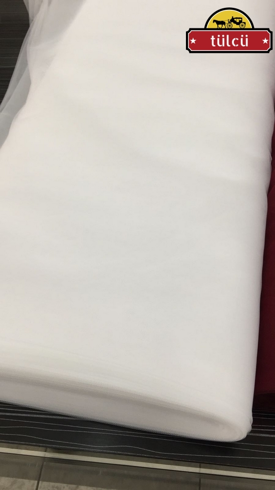 Beyaz Hayal Tül Toptan - 50 Metrelik Top