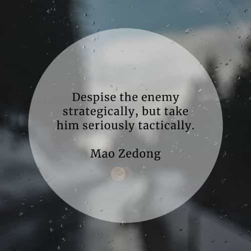 Enemy quotes that'll help you deal with your true foe