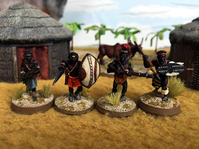 North Star, Foundry, Copplestone, Warlord 28mm African Miniatures