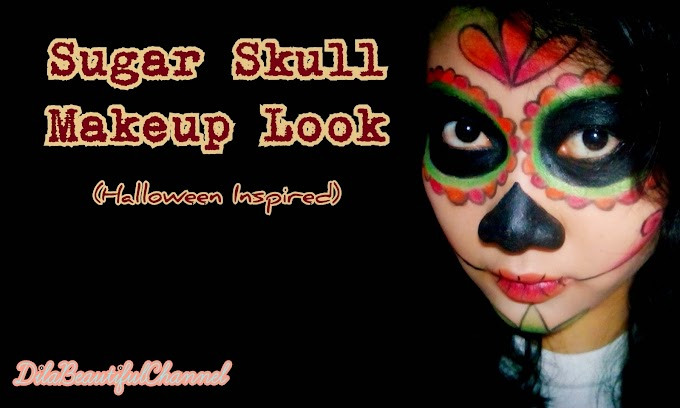 Makeup Look: Sugar Skull (Halloween Inspired)