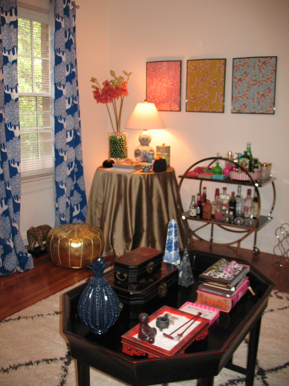 Apartment Living Room On A Budget Thrift Stores