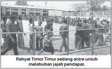 Timor Timur Lepas dari NKRI