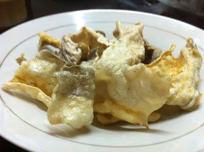 Fish skin Chips recipe