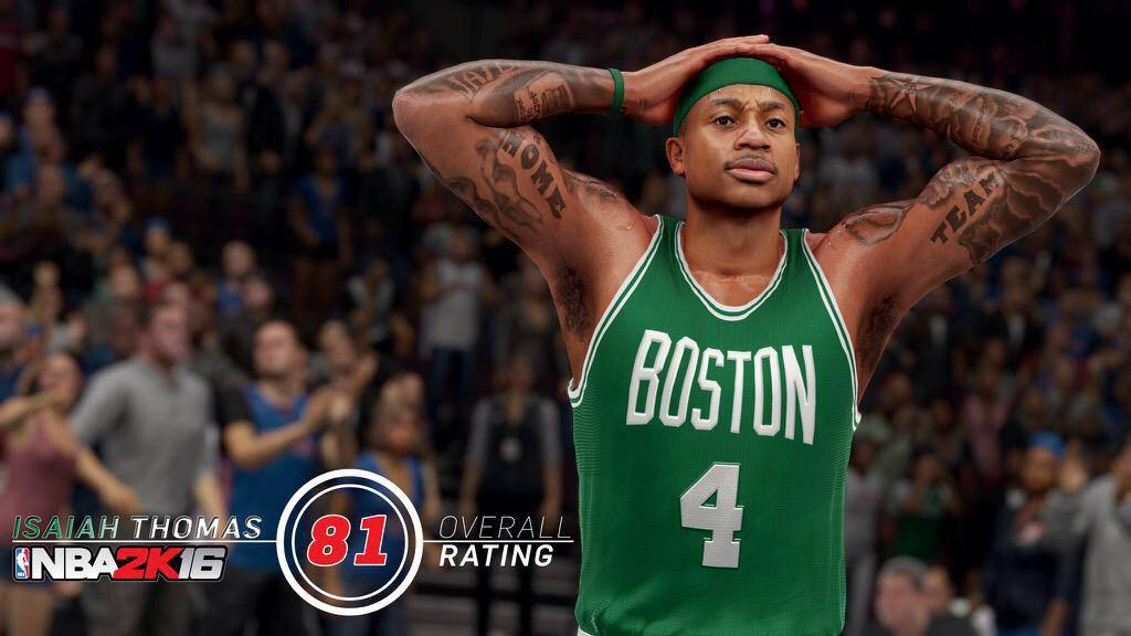 NBA 2k16 Player Ratings and Screenshots