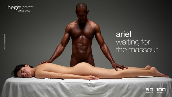 [Hegre-Art] Ariel - Waiting For The Masseur