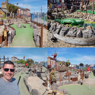 Smugglers Cove Adventure Golf in Barry Island, Wales