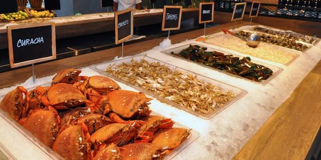 Unlimited Seafood at Isla Sugbu Seafood City