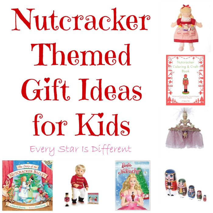 Nutcracker Themed Gifts for Kids