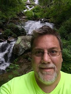 A photo of David Brodosi on the Appalachian Trail