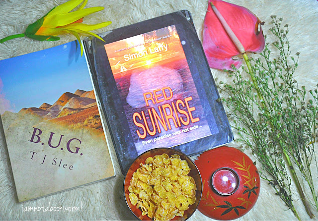 Red Sunrise by Simon Laffy | A Book Review by iamnotabookworm!
