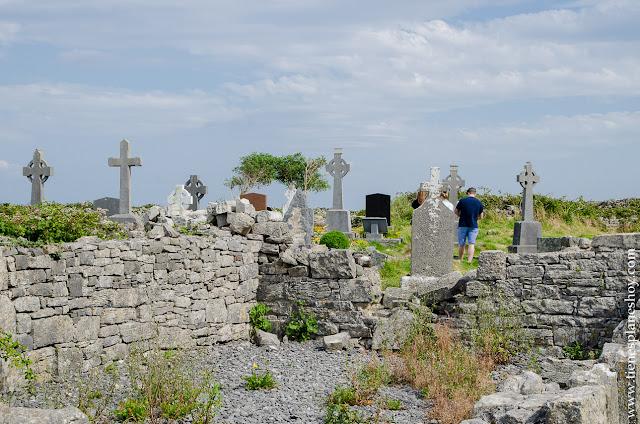 Cementerio de las Siete Iglesias Inishmore Islas Aran Irlanda