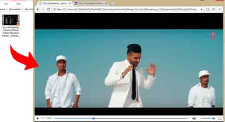 Use google chrome browser as a music and video player