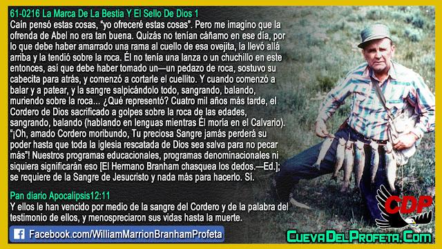 La ofrenda de Abel - William Branham en Español