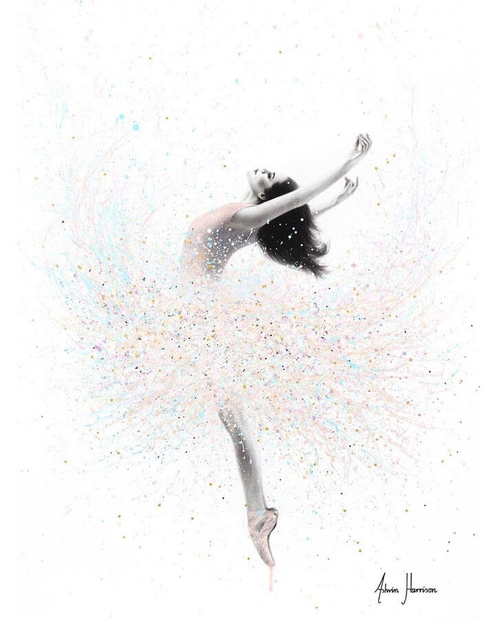 04-Ballet-in-White-Ashvin-Harrison-Acrylic-Paintings-www-designstack-co