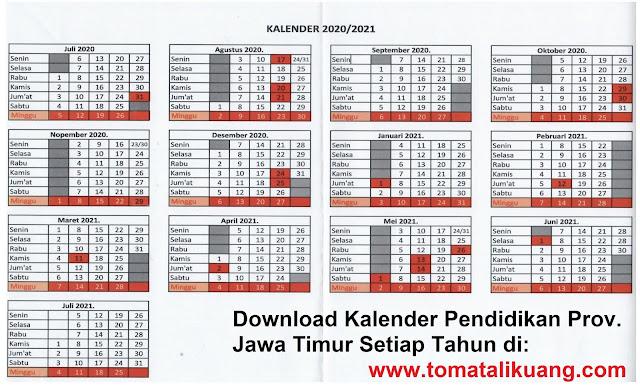 download kalender pendidikan provinsi jawa timur 2020/2021 pdf; tomatalikuang.com