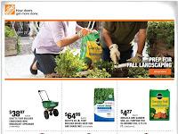 Home Depot Ad Flyer September 30 - October 7, 2021 OR 10/1/21
