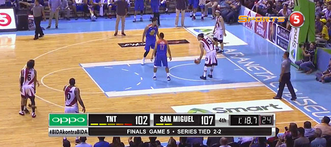 San Miguel def. TNT, 111-102 (REPLAY VIDEO) Finals Game 5 / June 30