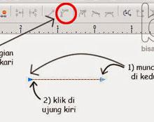 Membuat Garis Melengkung Corel Draw