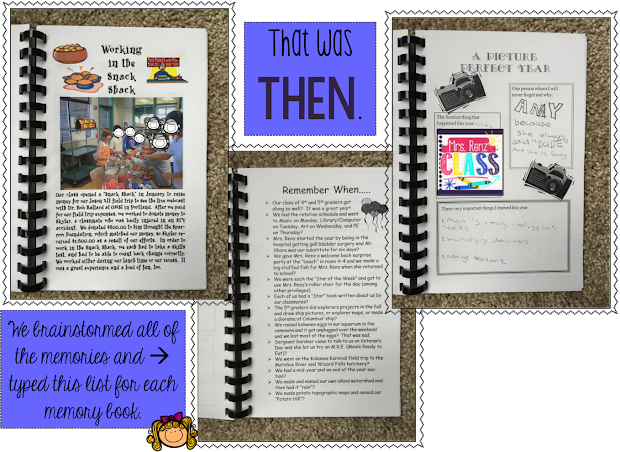 Renz' Class Capture End Of Year Memories With Memory Book