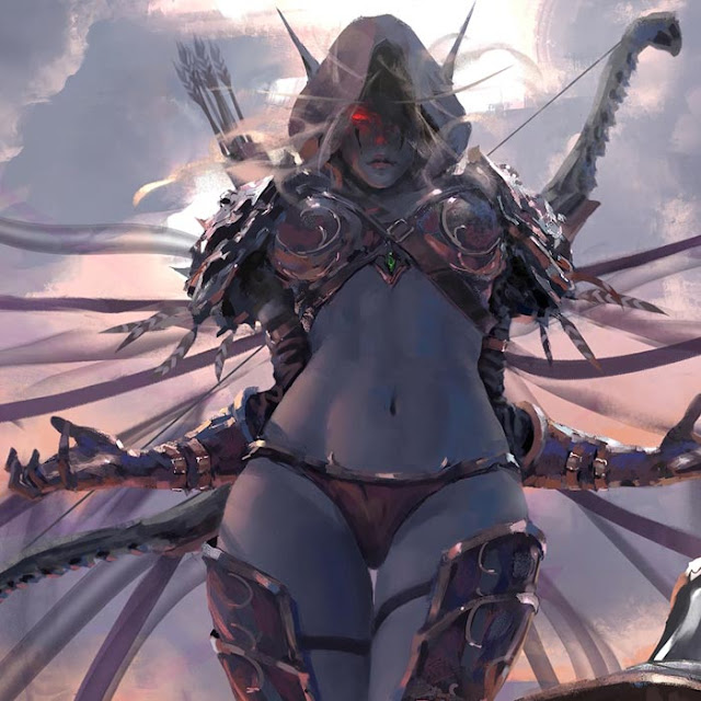 Sylvanas Windrunner 4K Wallpaper Engine