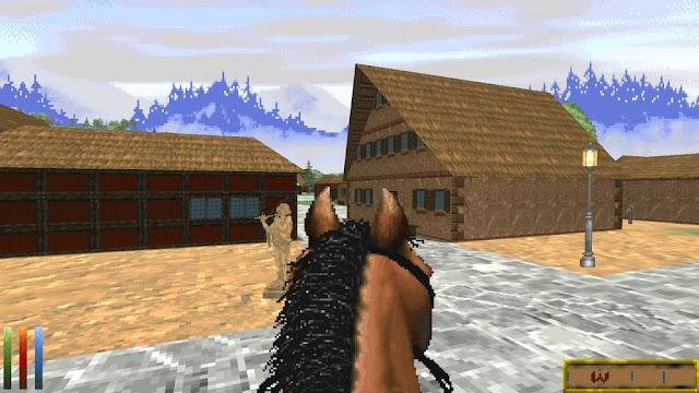 Horse riding in Daggerfall Unity