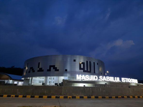 Masjid rest area Trans tol jawa