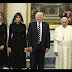 Oh dear! What is wrong with the photo of Pope Francis and Donald Trump?