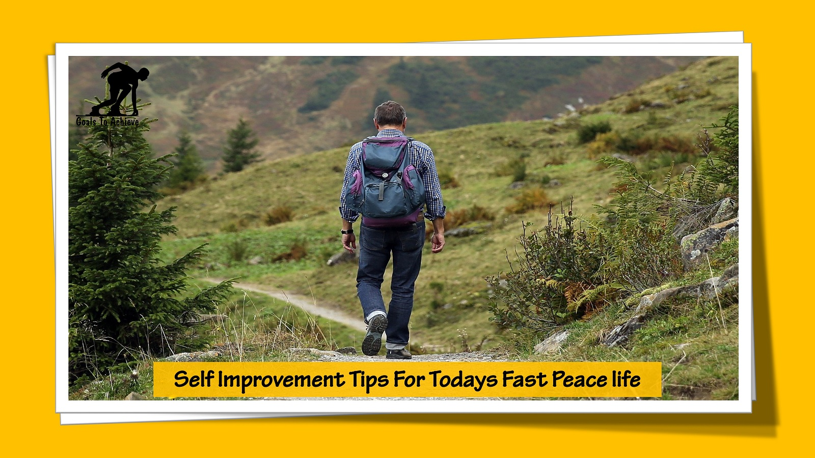 Self Improvement Tips For Todays Fast Peace life