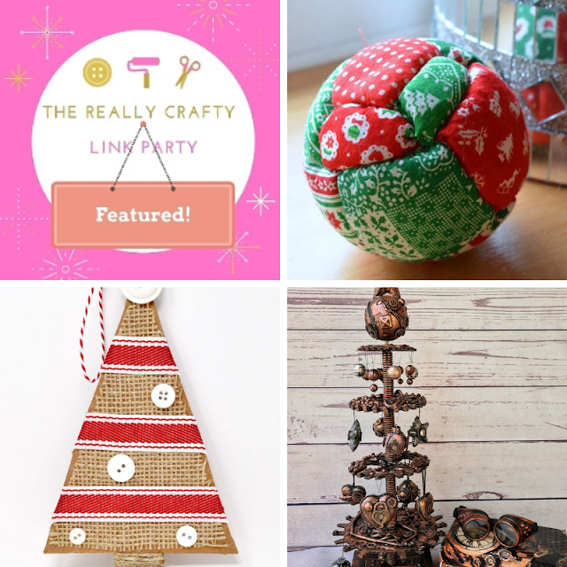 The Really Crafty Link Party #242 featured posts