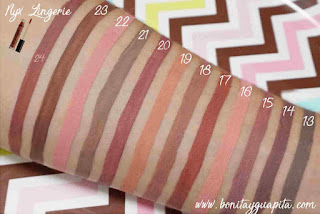 lingerie nyx labiales swatch
