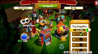 fv2ce, windmill, toy eyes, blue yarn