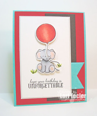 Unforgettable card-designed by Lori Tecler/Inking Aloud-stamps from WPlus9