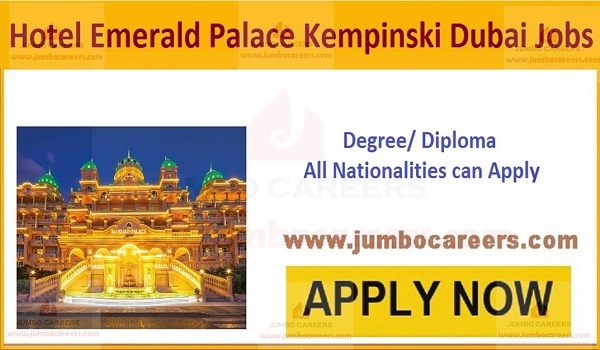 Jobs at Emerald Palace Kempinski UAE,