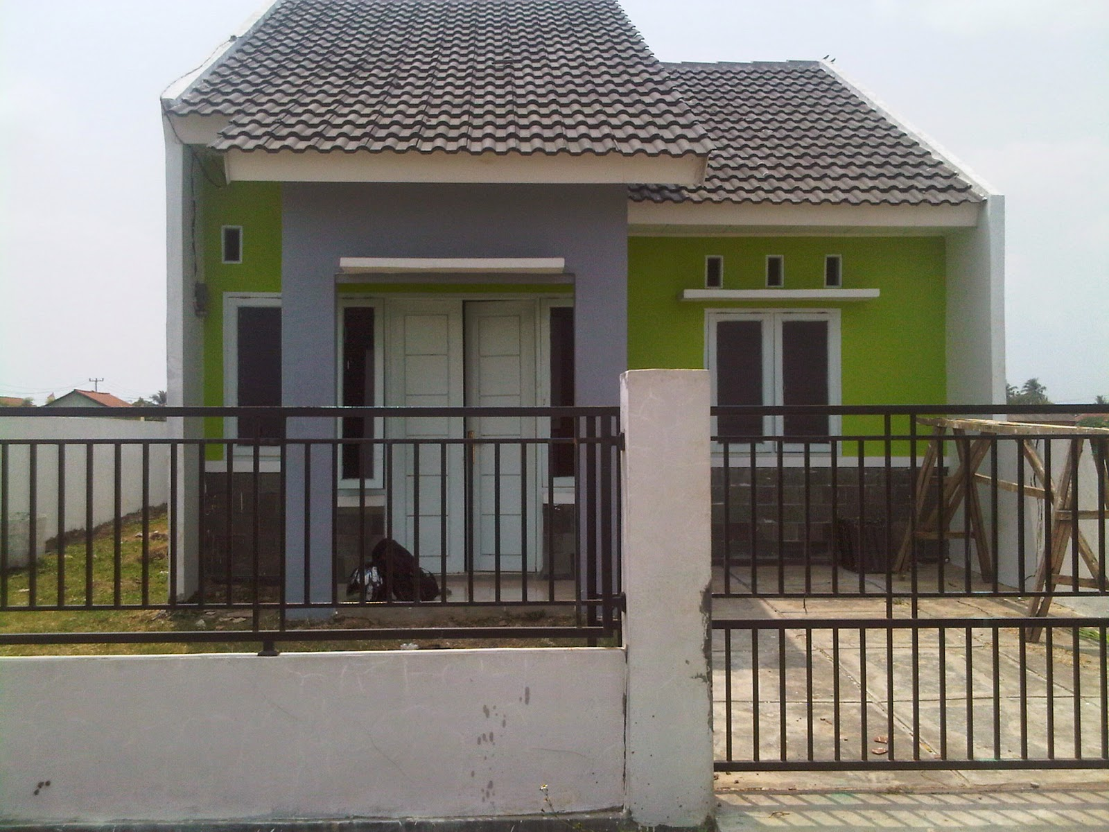Ini dia Rumah  Type  38  72  Harga 180jutaan Di Bekasi
