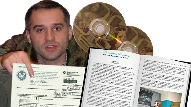 "Dzmitry Alyaksandravich Vasilyeu presents his  ""Dimanasus Prophecy""  FILM"