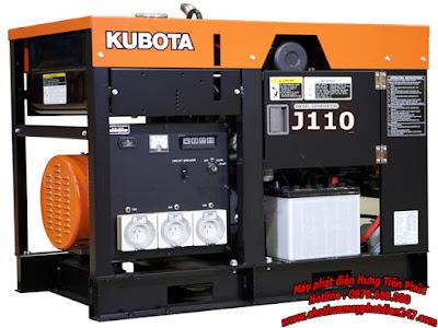 Máy phát điện Kubota 10kva J110