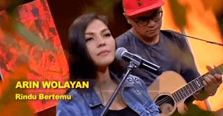 Lirik Lagu Rindu Bertemu - Arin Wolayan
