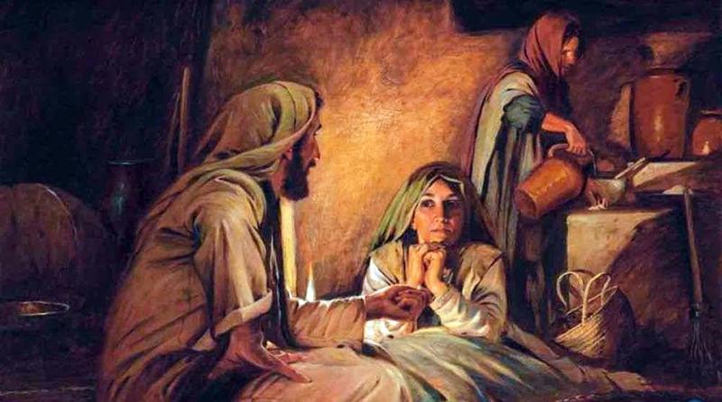 A coragem de Maria no mundo de Marta