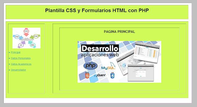 Plantilla-CSS-Formulario-Dimenciones-Div