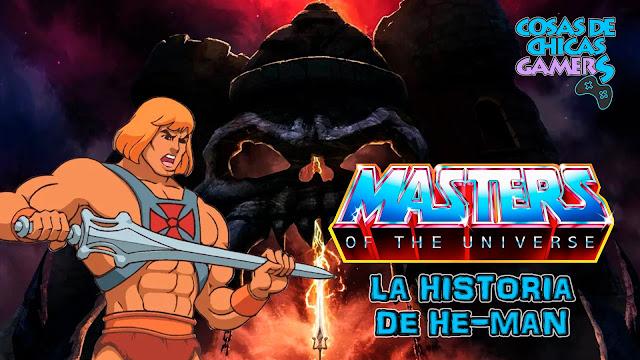 masters of the universe HISTORIA DE HE-MAN