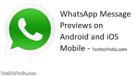 How to Disable WhatsApp Message Previews on Android and iOS Mobile